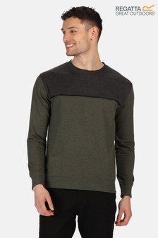 Regatta Green Payson Fleece Sweatshirt