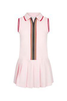 Burberry Kids Baby Girls Pink Cotton Dress