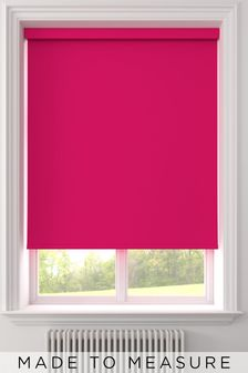 Haig Fuchsia Pink Made To Measure Blackout Roller Blind