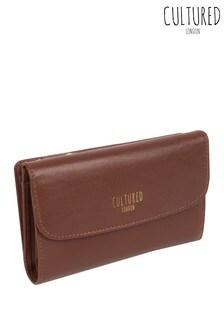 Cultured London Tatiana Leather Purse