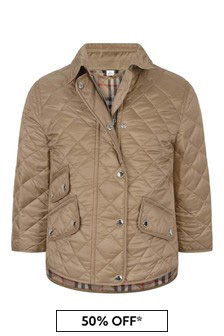 Girls Quilted Jacket