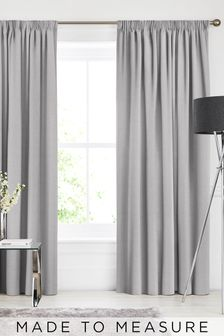 Soho Fog Grey Made To Measure Curtains