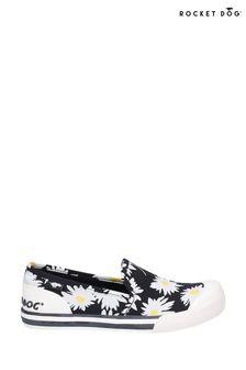 Rocket Dog Black Jazzin Slip Jazzy Slip-On Beach Shoes