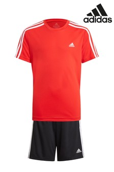 adidas Performance T-Shirt And Shorts Set