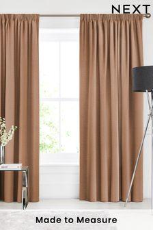 Soho Rust Orange Made To Measure Curtains