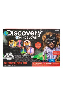 Discovery Mindblown Slimeology 101 DIY Set 5-In-1 Kit