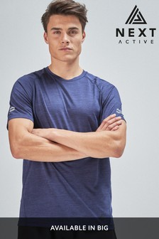 Navy Sports T-Shirt