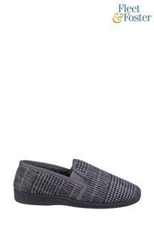 Fleet & Foster Grey Minnesota Slip-On Slippers