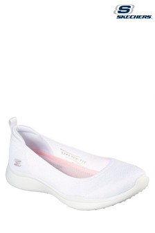 Skechers® White Microburst 2.0 Be Iconic Shoes