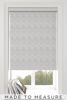 Grey Glamour Metallic Made To Measure Roller Blind