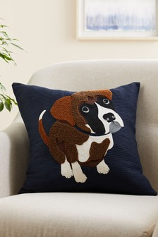 Billy The Boxer Cushion
