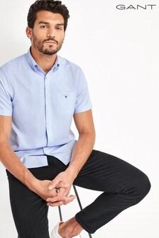 GANT Regular Short Sleeve Oxford Shirt