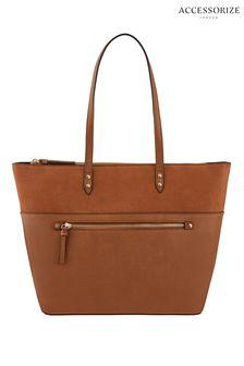 Accessorize Tan Molly Tote Bag
