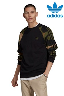 adidas Originals Camo Sweat Top