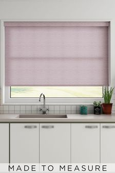 Roxie Lavender Purple Made To Measure Roller Blind