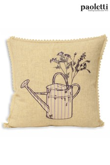 Watering Can Cushion by Riva Paoletti