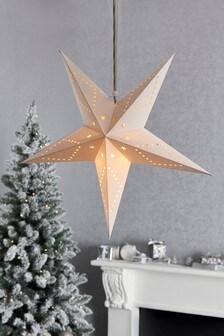 Light-Up Paper Star