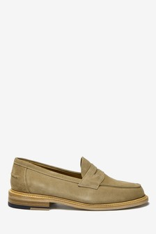 Sand Sanders for Next Suede Penny Loafers