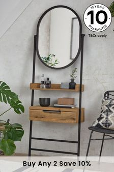Bronx Standing Dressing Table With Mirror