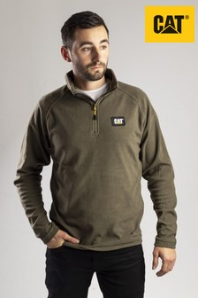 CAT® Green Fleece Pull Over Sweatshirt