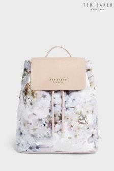 Ted Baker Cream Sukkii Vanilla Drawstring Backpack