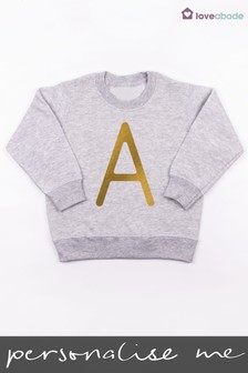 Personalised Letter Initial Jumper by Loveabode
