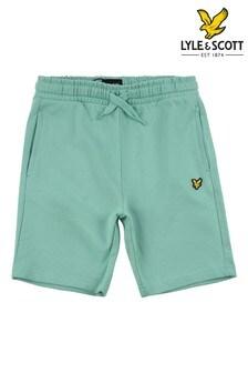 Lyle & Scott Green Classic Sweat Shorts