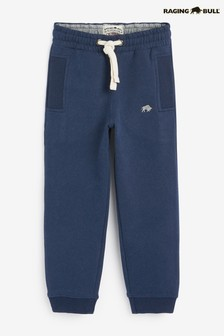 Raging Bull Blue Boys Jersey Joggers