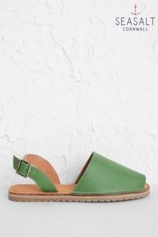 Seasalt Green Open Skies Sandals