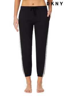 DKNY Black Logo Sleep Joggers