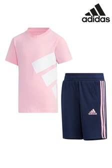 adidas Little Kids T-Shirt And Shorts Set