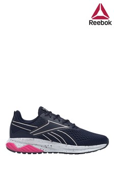 Reebok Run Navy/Pink Liquifect 180 Trainers