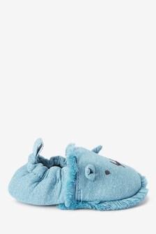 Blue Lion Slip-On Pram Shoes (0-24mths)
