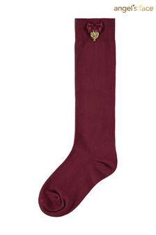 Angel's Face Purple Port Royal Charming Socks