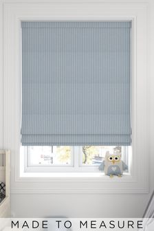 Nestor Sky Blue Made To Measure Roman Blind