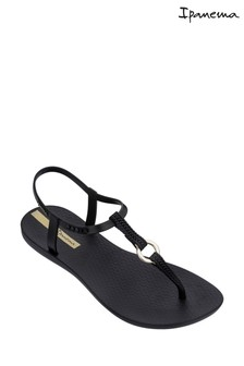 Ipanema Black Link Sandals