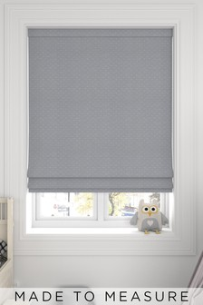 Windsor Dove Grey Made To Measure Roman Blind