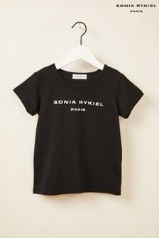 Sonia Rykiel Black Logo T-Shirt