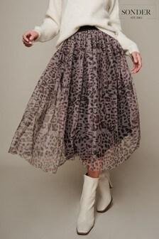 Sonder Studio Animal Tulle Skirt