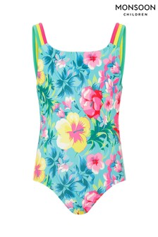 Monsoon Tropical Floral Swimsuit