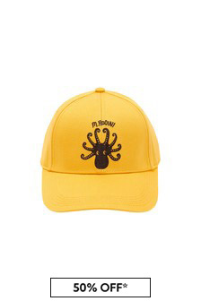 Kids Yellow Octopus Cap