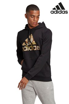 adidas Camo Badge of Sport Pullover Hoody
