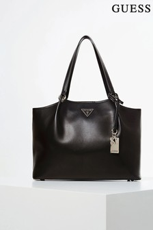 Guess Black Tangey Satchel