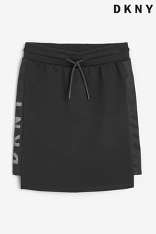 DKNY Black Logo Skirt