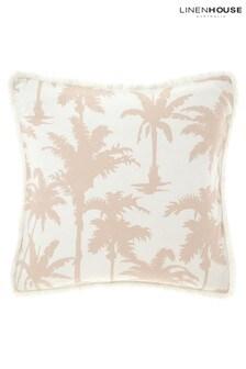 Luana Palm Print Pillowcase Sham by Linen House