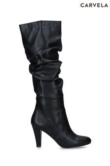 Carvela Comfort Black Tampa Boots