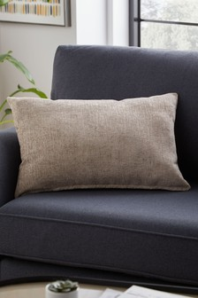 Heavyweight Chenille Rectangle Cushion