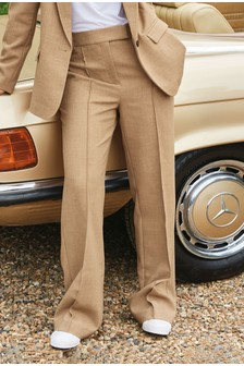 Camel Emma Willis Boot Cut Trousers