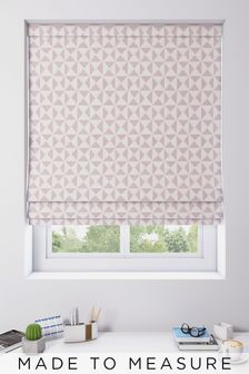 Monde Fuchsia Pink Made To Measure Roman Blind