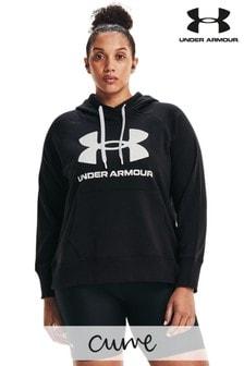 Under Armour Curve Rival Fleece Logo Hoodie